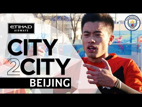 CITY2CITY | Beijing | Episode 1 | Sun Jihai Inspires Grassroots Football in China