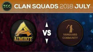 ZCC Clan Squads -Aimbot Vs. Vanguard Community - Grand Finals - ZombsRoyale.io