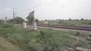 Recent Bullet Train Trial India Ahmedbad mumbai Indian railway 2014 Thumbnail