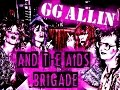watch he video of GG Allin And The Aids Brigade Rehearsal (1989)