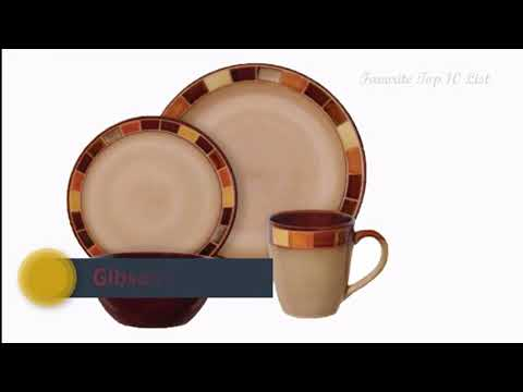 Top 6 Best Dinnerware Sets Brand List 2018
