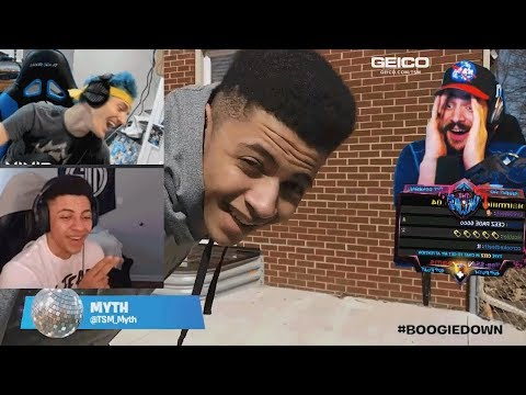 Cdnthe3rd Tsm Myth And Ninja React To #Boogiedown Contest