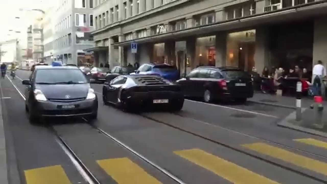 lamborghini huracn start up and accelerations - Lamborghini Huracan Grey
