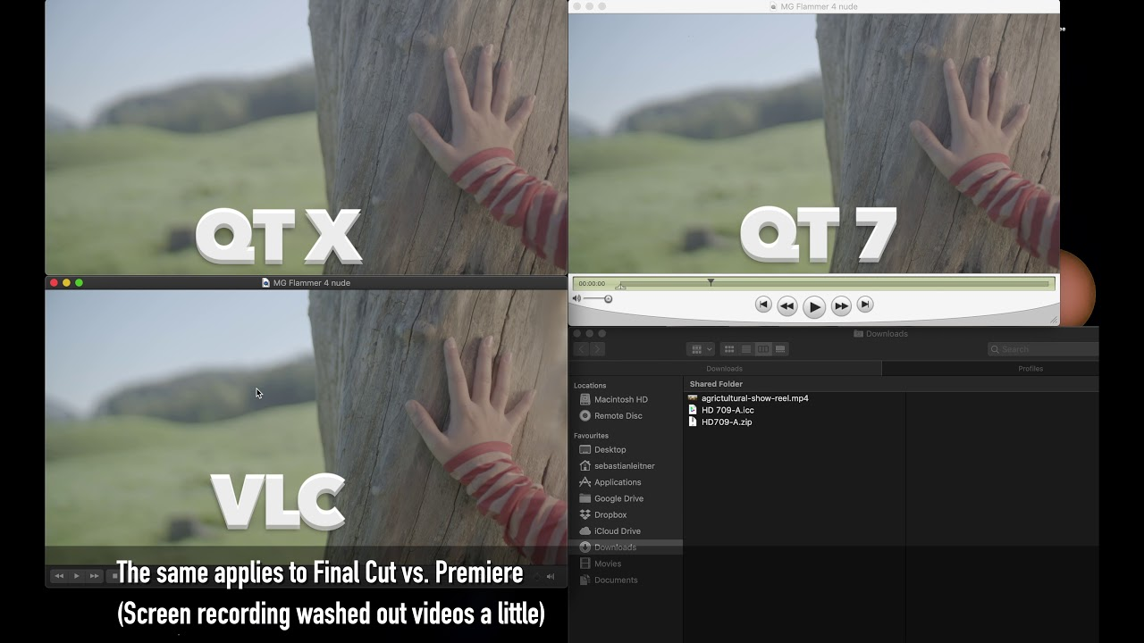 FIX iMac 5K P3 Color / Gamma Shift issue – Premiere, VLC, Vimeo, Quicktime,  Final Cut, Firefox HACK
