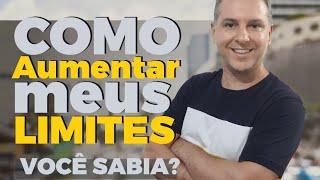 💳 COMO AUMENTAR OS LIMITES NOS BANCOS - CARTÕES/ LIMITES 🔴 - Leandro Vieira