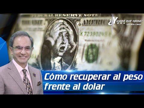 La fórmula para que el peso mexicano pueda ganarle al dolar