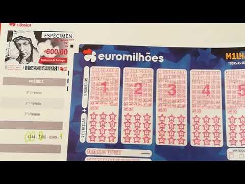 A Fórmula certa para escolher os números do Euromilhões