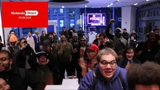 Full Highlights and Reactions to the Nintendo Direct 03.08.18 at Nintendo NY