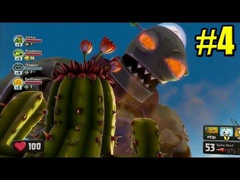 ДРЕВНЕЕ САДОВОЕ ПОБОИЩЕ! #4 — Plants Vs Zombies Garden Warfare 1 {PS4} — Разорванные СВЯЗИ
