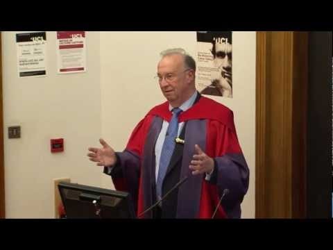 Professor Brian Collins Inuagural lecture at UCL