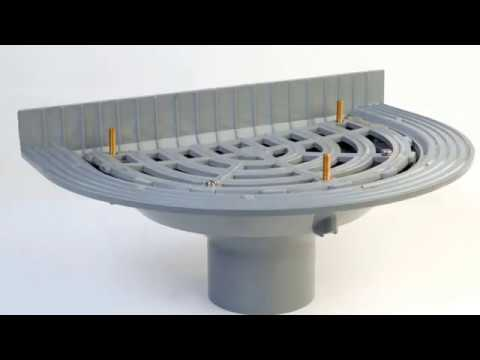 Flat Roof Water Drainage Systems Design