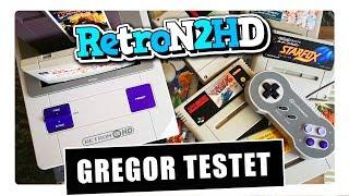 Gregor testet RetroN 2 HD, die 2-in-1 NES & Super Nintendo-Konsole (Review / Test)