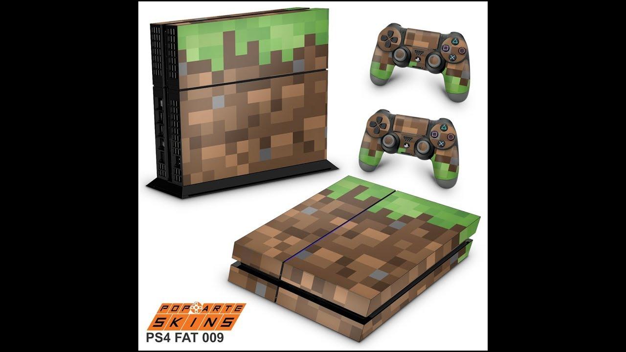 Ps4 Fat Skin Minecraft