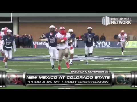 Inside Mountain West Football - Week 13 (11/19/14)