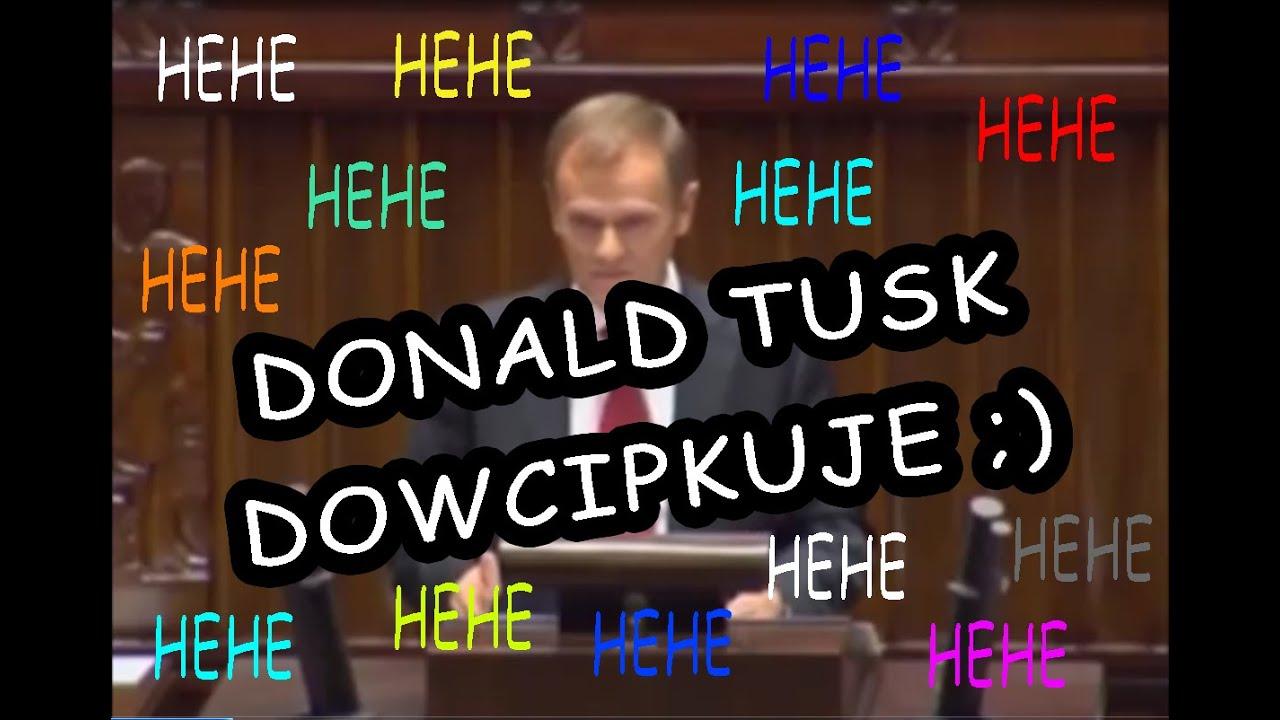 Donald Tusk Opowiada Dowcipy Youtube