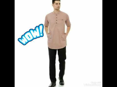 Baju Koko Terbaru 2020 Model Gus Azmi Motif Bordir Youtube