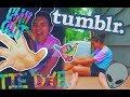 DIY TUMBLR PASTEL TE DYE SHIRTS \\ easy method to swirl & classic design