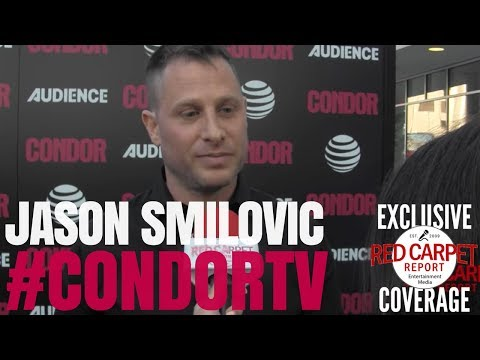 Jason Smilovic ed at premiere of CondorTV a spy thriller on AUDIENCEnetwork NowStreaming