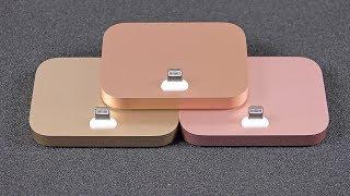 Apple iPhone 8 Lightning Dock (New Gold): Color Comparison
