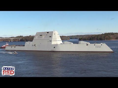 The Future USS Michael Monsoor Begins Its Sea Trials