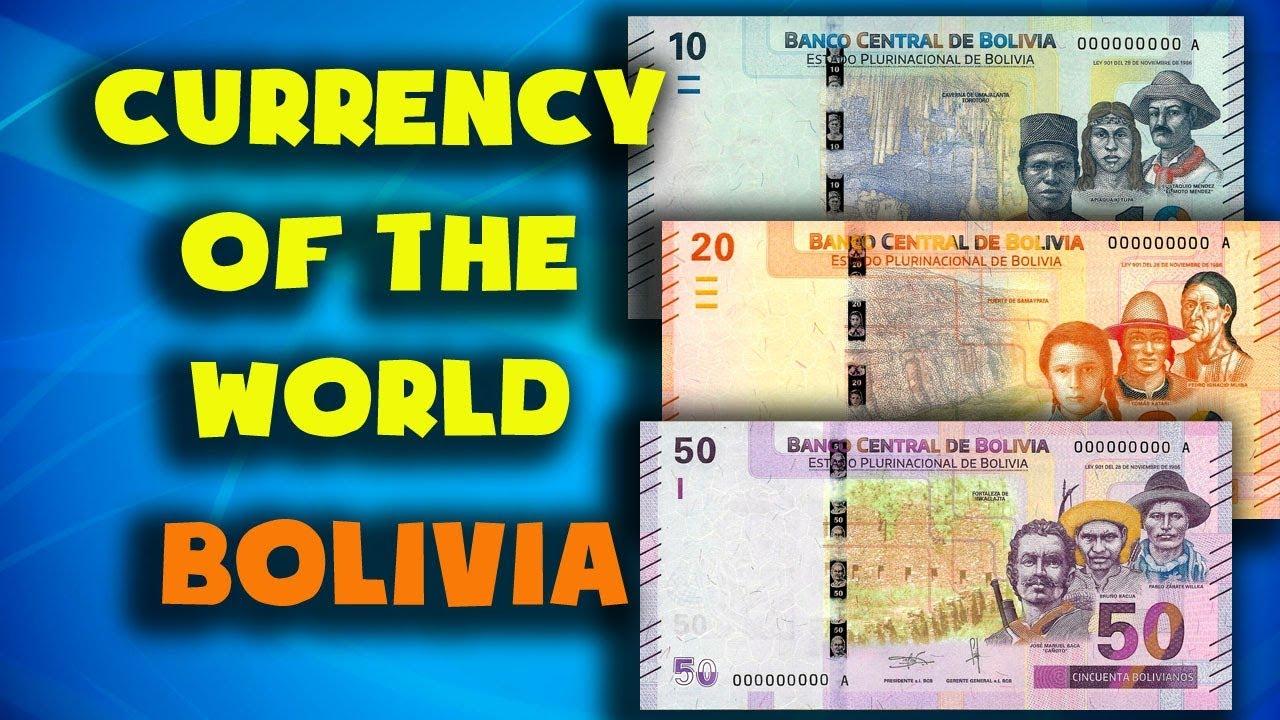 Bolivia Bolivian Boliviano Exchange