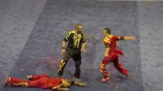The 12th World Wushu Championships Male Dual Events 男子对练