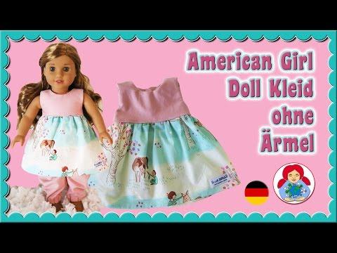 DIY | Puppenkleid-Oberteil ohne Ärmel selber nähen • Sami Doll Tutorials