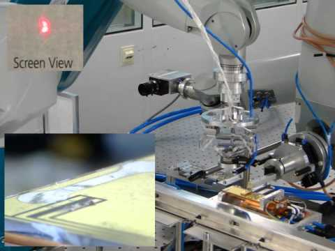 Automation of the Alignment Process of a Solid State Laser Resonator