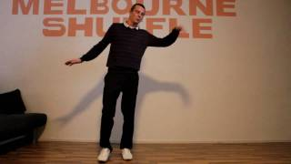 Melbourne Shuffle Tutorial Part 2 GERMAN