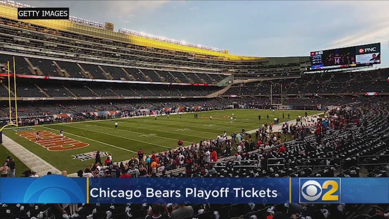 19ca727ac Chicago Bears Playoff Tickets Still Available–For A Price - YouTube