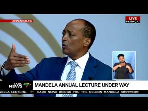 Patrice Motsepe address at the Mandela Lecture