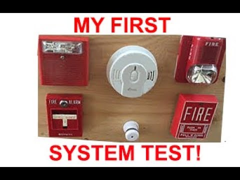Demo Of My Fire Alarm Board Youtube