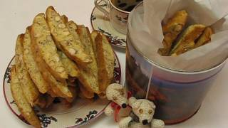 Betty's Almond Biscotti