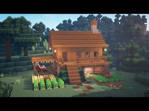 Minecraft | How to Build a Simple Survival House | Starter House