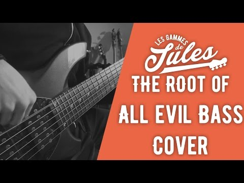 The Root Of All Evil Dream Theater Bass Cover - Bongo 6 - Jules Brosset