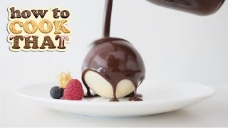 WHAT'S INSIDE WILL MELT YOUR  ❤️ How To Cook That Ann Reardon CHOCOLATE BALL