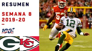 Sin Mahomes, los Chiefs se quedaron a nada de sorprender a Packers | Highlights Packers vs Chiefs