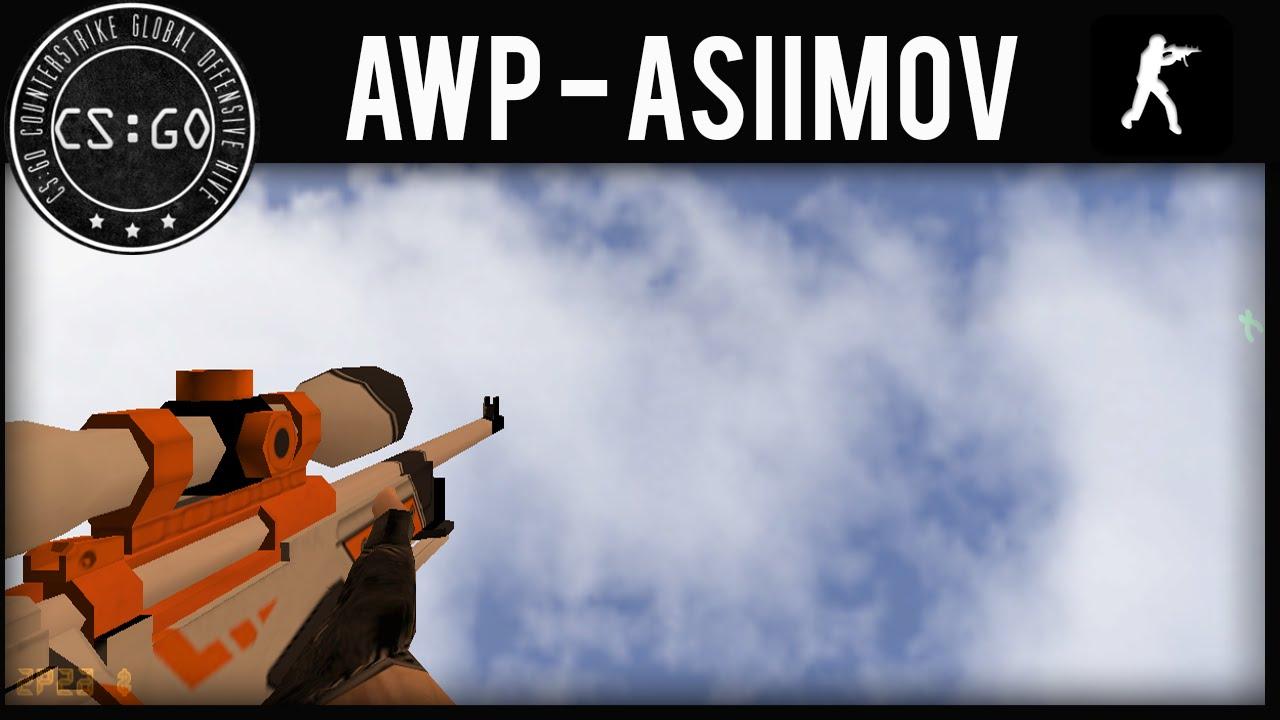 Awp asiimov para counter strike 1 6 2016 youtube - Awp asiimov cs 1 6 ...