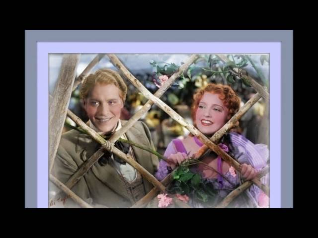 Jeanette MacDonald and Nelson Eddy sing Will You Remember from Maytime original