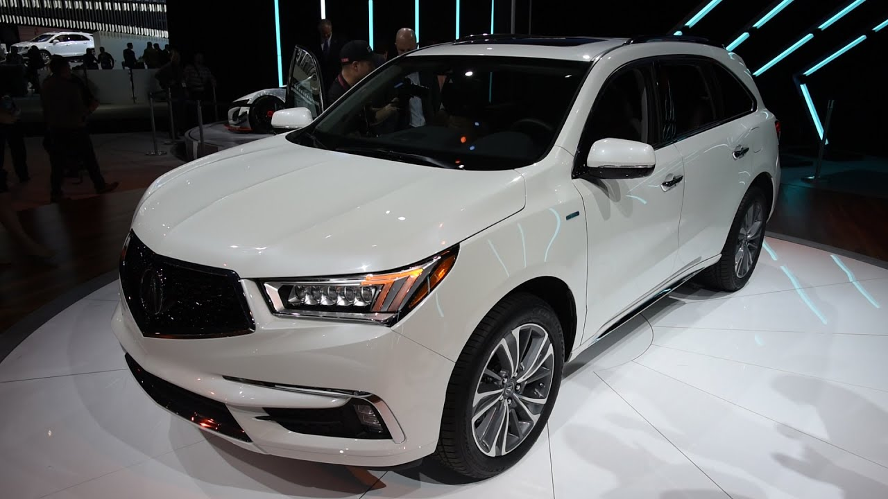 Creative 2017 Acura MDX First Look  2016 New York Auto Show  YouTube