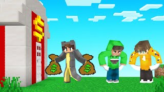 We Became BILLIONAIRES In Minecraft!