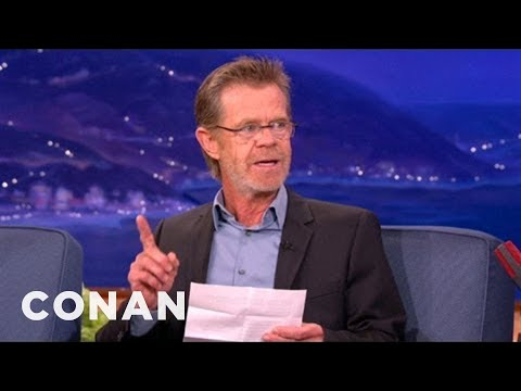 William H. Macy Is A Super Bowl Blackout Conspiracy Theorist - CONAN on TBS