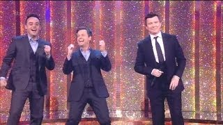 """Rick Astley"" Singing Never Gonna Give You Up With The Audience Saturday Night Takeaway 2014"