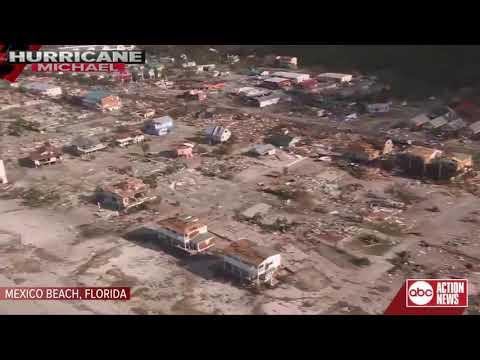 First aerials from hurricane-ravaged Mexico Beach, FL