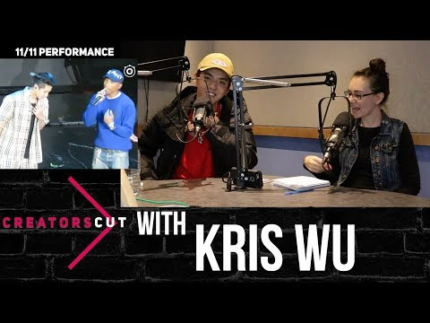 Kris Wu talks Pharrell knowing Chinese, technical difficulties & more on #CreatorsCut