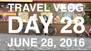 Vlog Day 28 - Bikes, Bridges and Beers