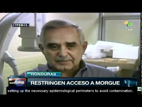Honduras: access to morgue restricted for health concerns