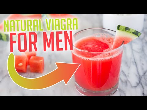 Natural Viagra For Men - Watermelon Juice