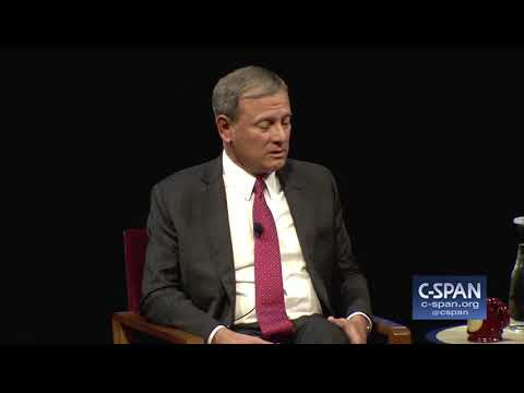 Chief Justice John Roberts on Cameras in the Supreme Court (C-SPAN)