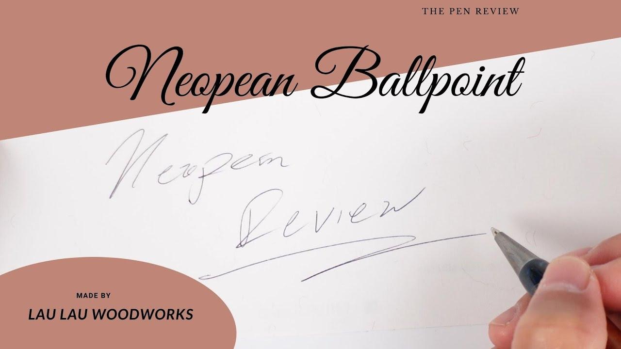 Let's Talk Story About a Koa Wood Pen, Lau Lau Woodworks Neopean Ballpoint Pens Reviewed